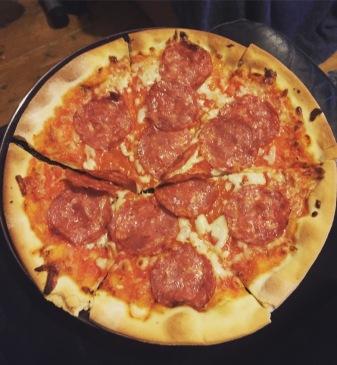 FODMAP fac schar pizza