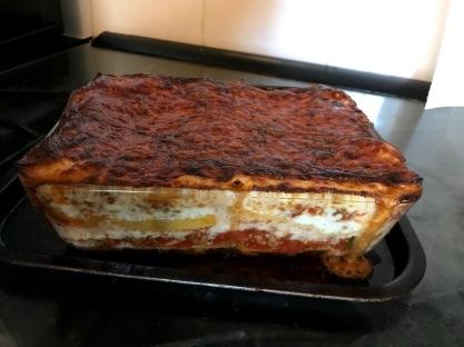 Meat lasagne 1